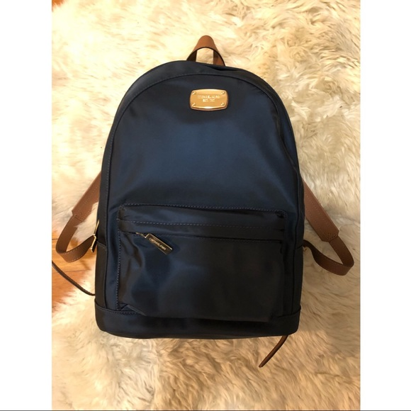 3f9909d9304 Michael Kors Bags | Heavy Duty Navy Mini Backpack Jet Set | Poshmark